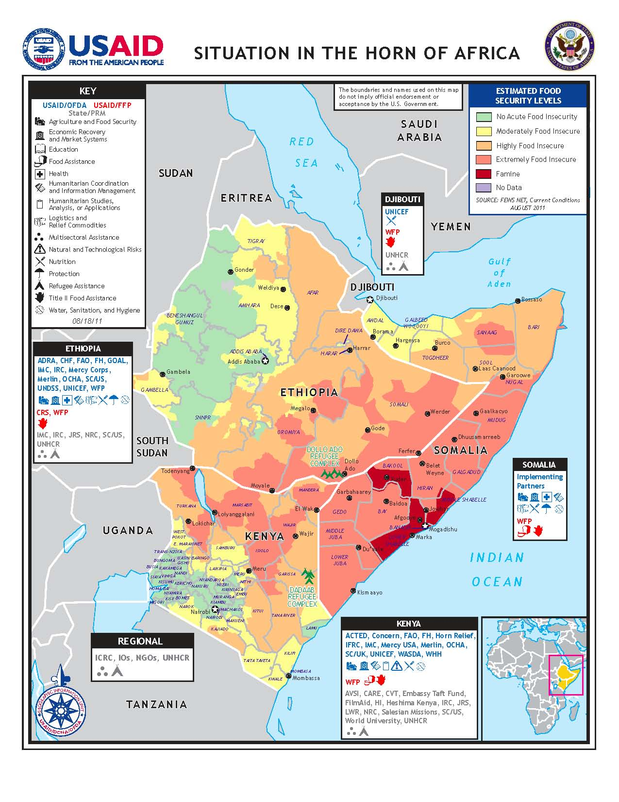 Democracy and famine in the horn of africa evan lieberman usaid map of horn of africa food crisis gumiabroncs Image collections